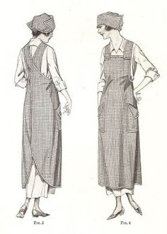 Old Fashioned Crossover Pinny