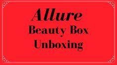 Allure Beauty Box ~ April 2017~  https://www.bbeautifullife.com/blog/allure-beauty-box-april-2017