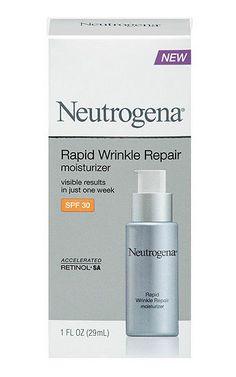 Neutrogena Rapid Wrinkle Repair Moisturizer 1 FL Oz. Retinol SA. SPF 30.  #Neutrogena