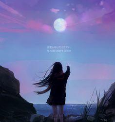 Don't leave, Aoi Ogata on ArtStation at https://www.artstation.com/artwork/o81mB