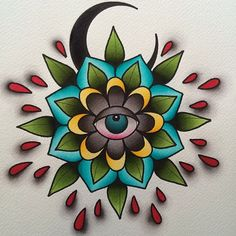 Ideas tattoo flower old school alex strangler Traditional Tattoo Flowers, Traditional Tattoo Flash, Sleeve Tattoos For Women, Tattoo Sleeve Designs, Elbow Tattoos, Arm Tattoo, Feather Tattoos, Flower Tattoos, Old School Tattoo Designs