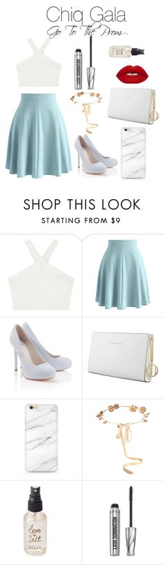 """Chiq Gala: Go To The Prom"" by esmeebetten on Polyvore featuring BCBGMAXAZRIA, Chicwish, Lipsy, Trussardi, Eugenia Kim, Olivine and Bare Escentuals"