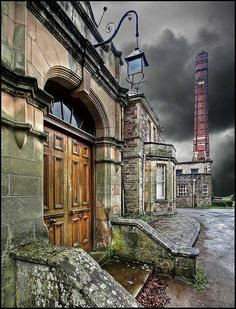 Talgarth Mental Hospital. Talgarth, Wales. Photo: Martyn Smith.