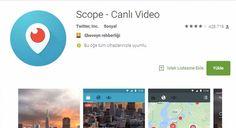 #TEKNOLOJİ Periscope'un Türkiye'deki adı yasağın ardından Scope oldu: Twitter'ın canlı yayın platformu Periscope'a, Türkiye'de hizmet…