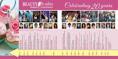Pages of Conference Booklet 20 Years, Booklet, Conference, Celebrities, Beauty, Women, Celebs, Beauty Illustration, Celebrity