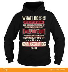 Neonatal Nurse Practitioner Job Title Tshirts.