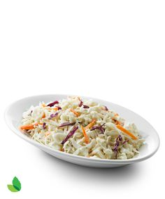 Creamy Coleslaw with Truvía® Natural SweeteneCrunchy and creamy, tangy and sweet! This dreamy coleslaw has no added sugar and makes a perfect side dish for Dad's summer barbeque creations. With 25% fewer calories and 67% less sugar** than the full-sugar version, you'll definitely be going back for a second helping.