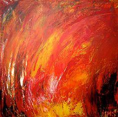 painting fire - Google zoeken