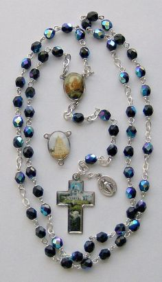 Brother Andre Bessette and St. Rosary Prayer, Holy Rosary, Rosary Catholic, Prayer Beads, Cross Wallpaper, Hail Mary, Jesus Pictures, Rosary Beads, Religious Jewelry