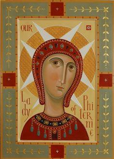 """ΜΡ.ΘΥ__Παναγια   """" Holy Virgin of Philermo""""  ( 2012 Olga Shalamova"""