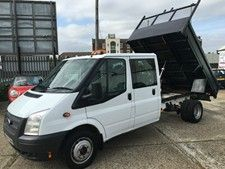 Ford Transit 2 2tdci 350 Lwb Tipper With Images Ford Transit Used Vans Van For Sale