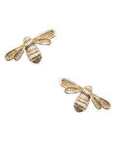 Bella Bee Stud Earrings - supercute! I finally got these <3