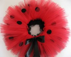 SHOP SALE 10 percent off everythingLadybug Tutu by deedeeandme