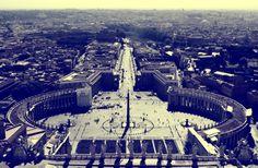 St. Peter's Square Travel Around, Paris Skyline, Travelling