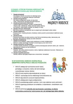 Dla Rodziców  Czym powinien się kierować rodzic, podczas wychowywania własnych dzieci? English Short Stories, Future Mom, Kids Room Design, Raising Kids, Good Advice, Kids And Parenting, Fun Facts, Infographic, Homeschool