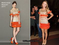 Blake Lively In Marchesa – Marchesa Dinner Party
