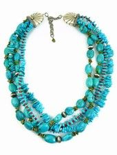 Turquoise Necklaces - Silver Turquoise Necklace, Native American Turquoise Necklaces | Southwest Silver Gallery