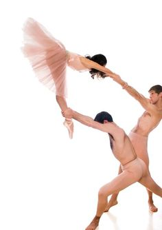 Did you know that a male ballet dancer lifts more than 1.5 tons worth of ballerinas during their performances?