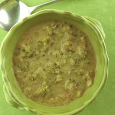 broccoli-cheese chowder-remix. uses potatoes & light sour cream instead of cream for the creamier texture.