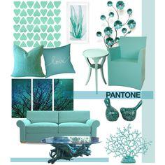 Pantone Color Swatch by j-sharon on Polyvore featuring polyvore interior interiors interior design home home decor interior decorating Joybird Furniture Dot & Bo Stratton Home Décor Surya pantonecolorswatch
