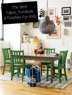 6th Street Design School | Kirsten Krason Interiors : Can Kids & Nice Things Co-exist & The Best Fabrics & Finishes to Use With Kids