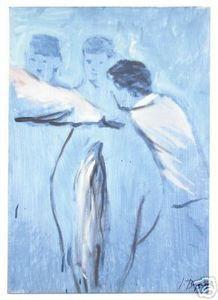 Ignacio Burgos -Caballo Ganador #1 - Signed Painting