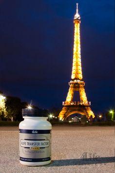 Taking Transfer Factor to the World - The Eiffel Tower, Paris - La Torre Eiffel, Paris.