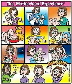 Motherhood Experience- Awesome? I think not!