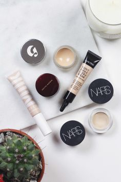 As I stray further and further from higher coverage foundations, opting for sheer bases or no foundation at all, concealer is really becoming quite important to my makeup routine. I only have small problem areas on my face, so most of the time I like to leave the clear areas bare and use concealer o