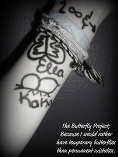 Butterfly project: self harm recovery
