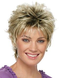 Ombre Straight Style Pixie Cut Capless Wig Golden Blonde Red Medium Auburn Synthetic Hair Women's Natural Hairline Golden / Burgundy Wig Short StrongBeauty Natural Wigs / Yes - Short Hair Styles Short Hair Cuts For Women, Short Hairstyles For Women, Teenage Hairstyles, Curly Hair Styles, Natural Hair Styles, Natural Wigs, Natural Shampoo, Natural Makeup, Haircuts For Fine Hair