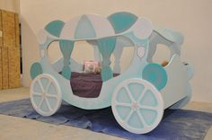 Check out our new winter themed princess carriage!