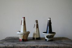 vintage Horn Mutes by nocarnationshome on Etsy, $65.00