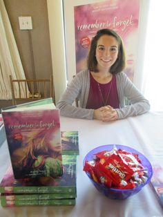 Breakout author, Ashely Royer, discusses her book Remember to Forget. She spills all on how she went from being a Wattpad writer, to being published by Harper Collins. Find out more in her interview. http://tpkeaneblog.blogspot.com/2016/08/meeting-ashley-royer-at-new-england.html