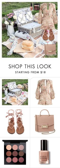 """Picnic À La Mode."" by rashawnearner ❤ liked on Polyvore featuring Zimmermann, Furla and Bobbi Brown Cosmetics"