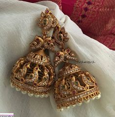 4 Easy And Cheap Tricks: Jewelry For Men Personalized jewelry exhibitors furnitu. - 4 Easy And Cheap Tricks: Jewelry For Men Personalized jewelry exhibitors furnitu… – Jewelry e - Gold Jhumka Earrings, Gold Earrings Designs, Jhumka Designs, Gold Designs, Indian Earrings, Simple Earrings, Diy Earrings, Editorial Design, Personalized Jewelry