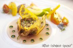 "Fine Dining Salads | Heirloom tomatoes ""façon"" tartare and salad, tomato tartelette and ..."