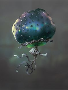 ArtStation - Mars TT - Jellyfish, Camille Bachmann