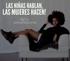 HECHOS y no Palabras!!! -