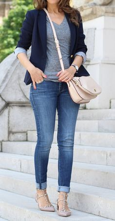 Classy Outfits For Women, Casual Work Outfits, Business Casual Outfits, Clothes For Women, Looks Chic, Casual Looks, Look Fashion, Fashion Outfits, Womens Fashion