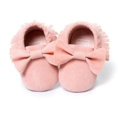 0-18M Baby Girls shoes Tassels Shoes Pink Toddler Sneakers Baby Shoes for girl Bowknot First walker shoes