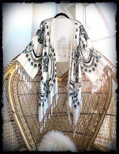 One-of-a-kind paisley kimono!