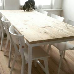 Table custommade by Lijn M