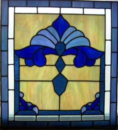 One of my stained glass projects