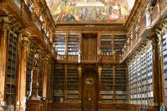 Library in Prague.