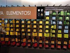 Muy curiosa la tabla periódica del Museo Nacional de Ciencia y Tecnología MUNCYT