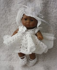 Crochet pattern for Berenguer 5 inch baby doll by petitedolls, £2.50 http://www.etsy.com/listing/121597730/crochet-pattern-for-berenguer-5-inch?ref=sr_gallery_30_search_query=5+inch+berenguer+doll_view_type=gallery_ship_to=US_page=2_search_type=all