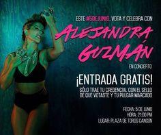 Confirmado: Alejandra Guzmán ofrecerá concierto ¡Gratis!