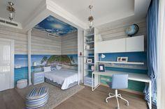 Фото интерьера детской квартиры в современном стиле
