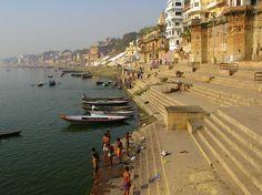 River Ganga ghat in Varanasi, India